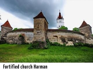 Fortified church Harman